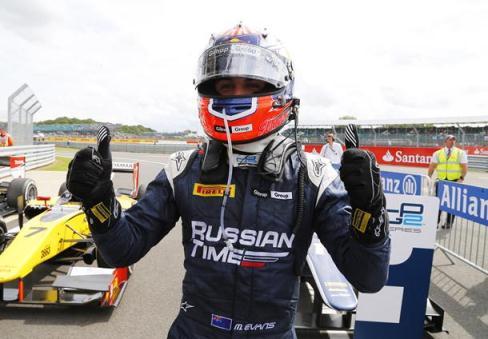 GP2 Series: Mitch Evans vence em Silverstone