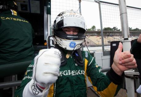 GP2 Series: Giedo Van der Garde marca a pole na Alemanha