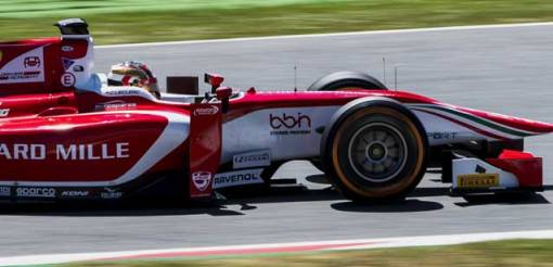 F2: Charles Leclerc alinha na pole em Barcelona