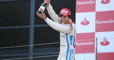GP2: Sergio Pérez vence a segunda prova em Silverstone