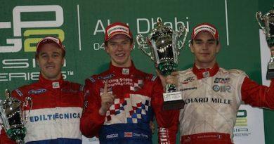 GP2 Asiática: Oliver Turvey vence primeira prova em Abu Dhabi