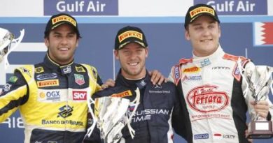 GP2 Series: Sam Bird vence no Bahrein. Felipe Nasr é segundo