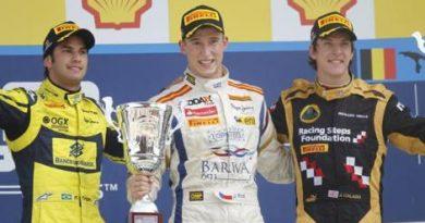 GP2 Series: Josef Kral vence na Bélgica