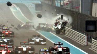 GP2 Asiática: Razia escapa ileso de grave acidente em Abu Dhabi