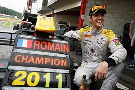 GP2 Series: Christian Vietoris vence em Spa. Romain Grosjean é o Campeão de 2011