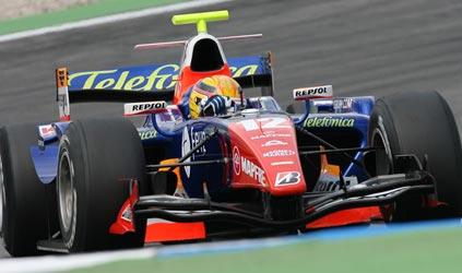 GP2 Series: Giorgio Pantano é o pole na Alemanha