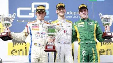 GP2 Series: Romain Grosjean vence na Hungria