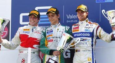 GP2 Series: Esteban Gutierrez venceu em Valência. Luiz Razia é 2º