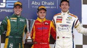GP2 Series: Fabio Leimer vence em Abu Dhabi. Luiz Razia é 2º