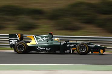 GP2 Series: Luiz Razia marca a pole em Budapeste