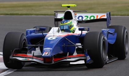 GP2 Series: Em Silverstone, Alberto Valério vence pela primeira vez