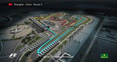 Fórmula 1 renova com Grande Prêmio da China até 2020