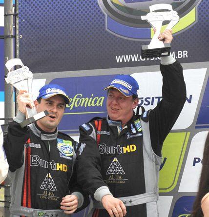 GT3 Brasil: Leo Burti e Elias Jr. conquistaram segundo pódio consecutivo