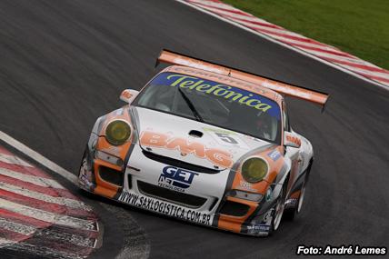 GT3 Brasil: Emerson Fittipaldi encerra temporada no pódio em Interlagos