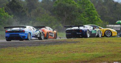 GT3 Brasil: Veja seqüência de fotos do acidente de Cláudio Ricci em Santa Cruz do Sul