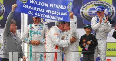 GT3 Brasil: Irmãos Fittipaldi emocionam público em Interlagos