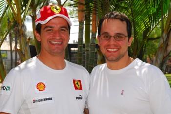 GT3 Europeu: Os brasileiros Cláudio Ricci e Fábio Casagrande correm na Europa com a Ferrari F430