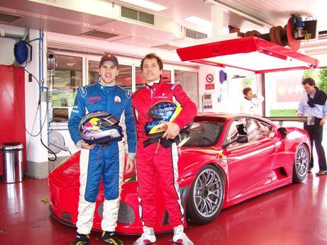 GT3 Brasil: Chico Longo e Daniel Serra a bordo de F430 GT3 em Londrina