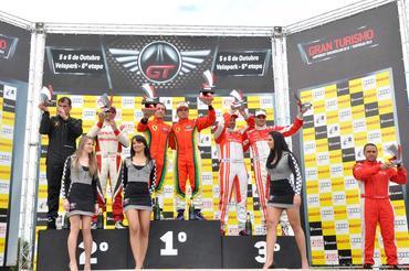 GT3 Brasil: Daniel Serra e Chico Longo vencem no Velopark pela GT3
