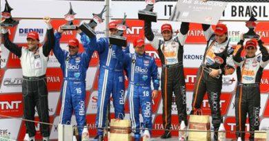 GT3 Brasil: Valdeno Brito/ Matheus Stumpf vencem pela segunda vez e assumem liderança do campeonato