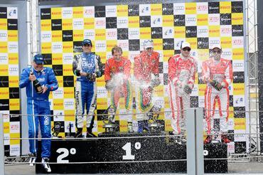 GT3 Brasil: Chico Longo e Daniel Serra levam Ferrari 458 Itália à vitória em Interlagos