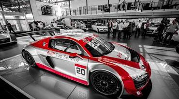 GT Brasil: Audi apoia Ebrahim Motors e apresenta R8 LMS para a temporada 2013