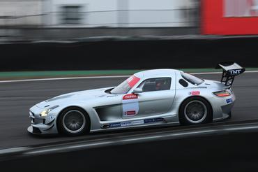GT Brasil: Mercedes-Benz SLS AMG estreia como atração do Itaipava GT Brasil no Velopark