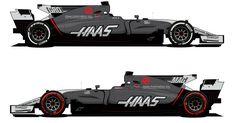 F1: Haas revela novo visual para o restante da temporada