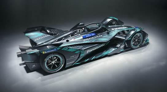 Fórmula-E: Jaguar revela o conceito I-TYPE 3, antes do e-Prix de Roma
