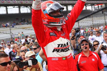 IndyCar: Hélio Castroneves é o mais rápido no Carburation Day