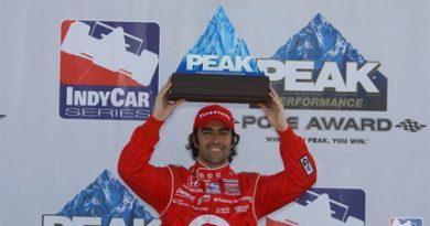 IndyCar: Franchitti é pole em Richmond