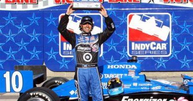 IndyCar: Dario Franchitti conquista a pole em prova noturna