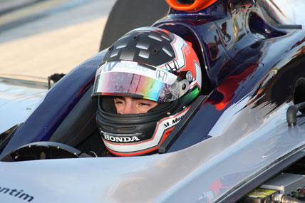 IndyCar: Mário Moraes é destaque nos treinos coletivos