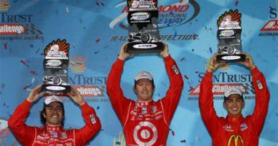 IndyCar: Dixon vence na dobradinha da Chip Ganassi em Richmond