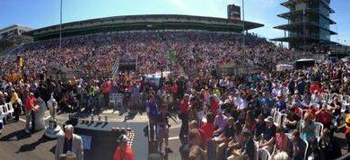 Indy500: Marco Andretti lidera com 60 voltas