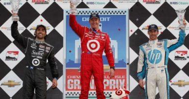 IndyCar: Scott Dixon vence prova tumultuada em Detroit