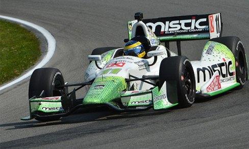IndyCar: Sébastien Bourdais marca a pole em Mid-Ohio