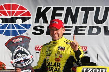 IndyCar: Em Kentucky, Ed Carpenter vence pela primeira vez