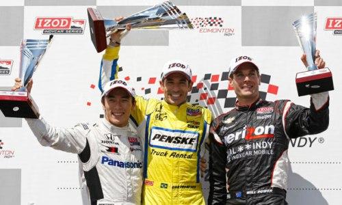 IndyCar: Helio Castroneves vence em Edmonton