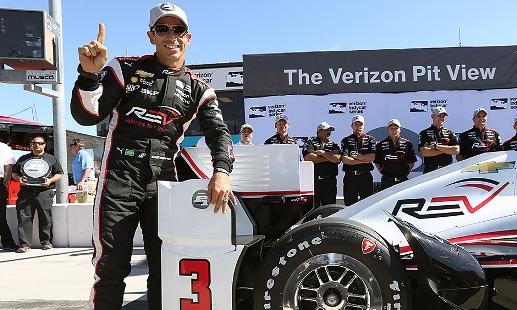 IndyCar: Hélio Castroneves marca a pole em Phoenix