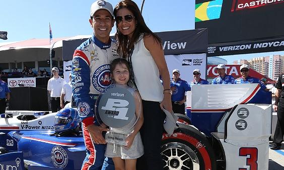IndyCar: Hélio Castroneves marca a pole em Long Beach