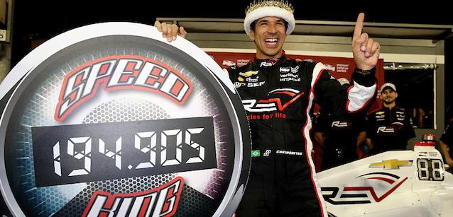 IndyCar: Hélio Castroneves alinha na pole para GP de Phoenix