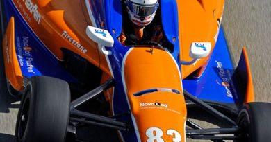 IndyCar: Charlie Kimball fratura mão direita em acidente durante testes em Mid-Ohio