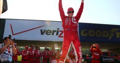 IndyCar: Dixon larga em último e vence em Mid-Ohio