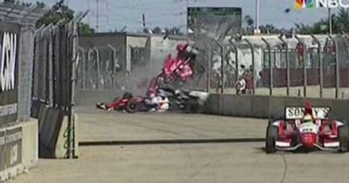IndyCar: Franchitti passa por cirurgia no tornozelo e segue internado