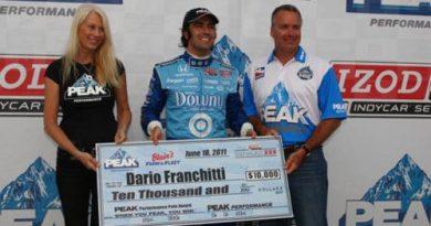 IndyCar: Dario Franchitti marca a pole em Milwaukee