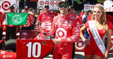 IndyCar: Com recorde da pista, Dario Franchitti marca a pole em Long Beach
