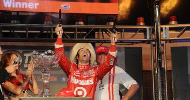IndyCar: Dario Franchitti vence primeira prova no Texas