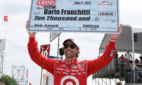 IndyCar: Dario Franchitti marca a pole em Toronto