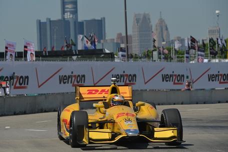 IndyCar: Ryan Hunter-Reay e Simon Pagenaud lideram no primeiro dia de treinos para o GP de Detroit